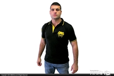 Today on MMAHQ Venum Black Polo - $19